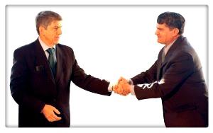 shake hands