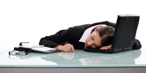 Tired Person At Work Too Tired To Work? | P...