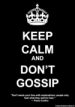 Why Don't People Listen? TheGossiper