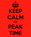 When Are Your Peak Times?