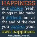 Happiness is theAnswer