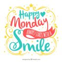 It's Monday, do you have your smile on?